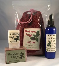 Blackberry Sage Gift Set - Product Image